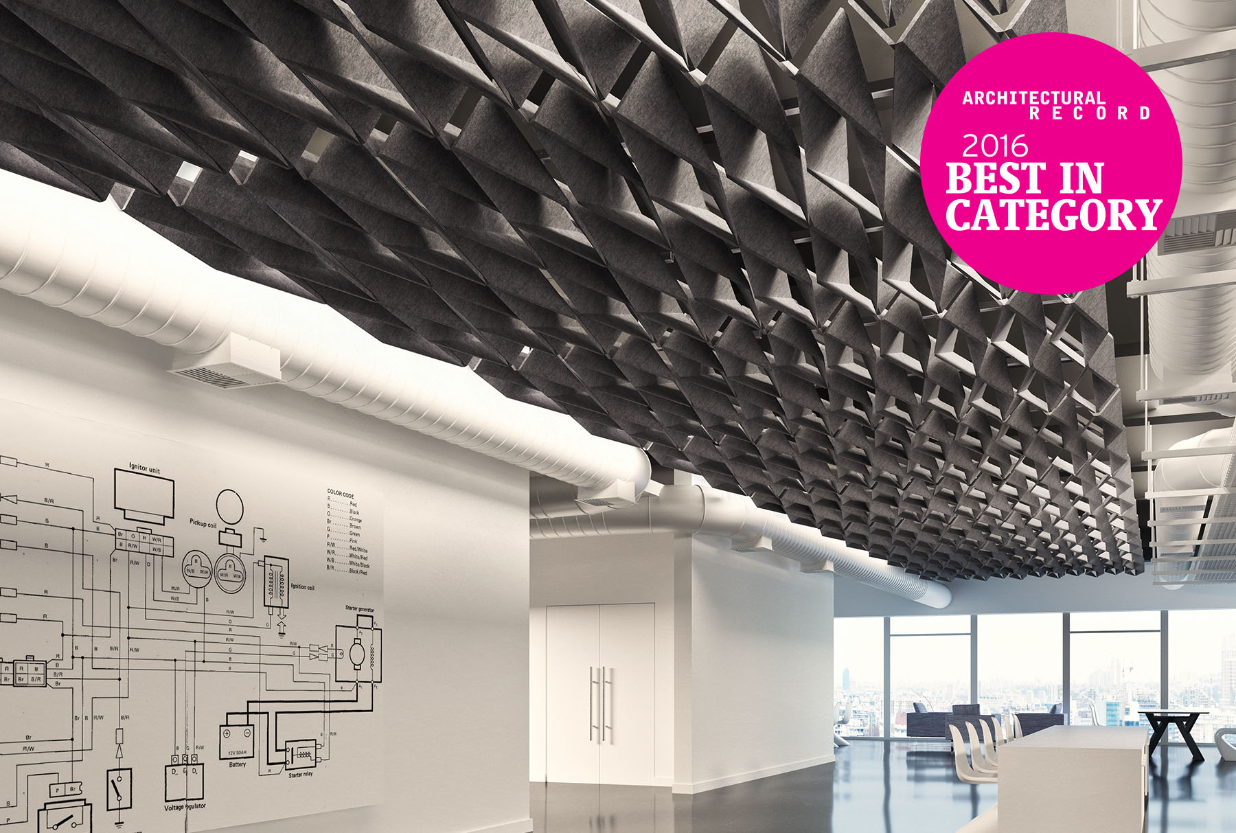 SoftFold Modular Ceilings
