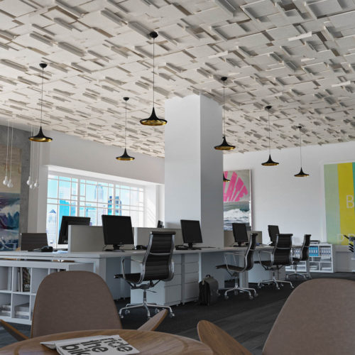 Soft Planes Modular Ceilings